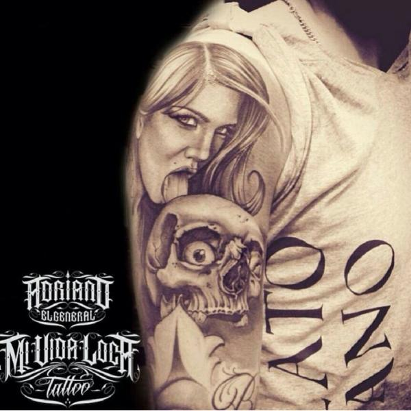 Chicano Tattoo - MiV