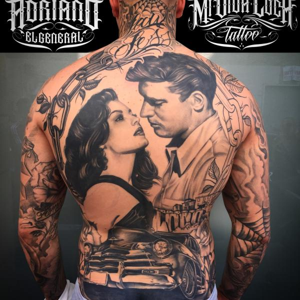 Il tatuaggio chicano mividaloca tattoo for Tatuaggi stile pin up